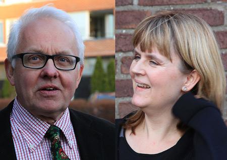 Lennart Lindahl och Inger Ahldén